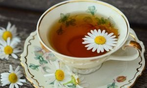 Šálka s čajom