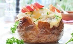 Pečený zemiak