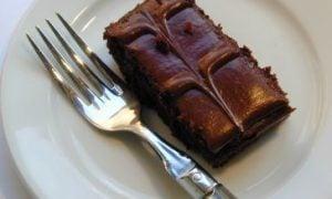 čokoládový koláč