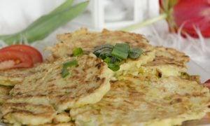 Cuketovo-zemiakové placky
