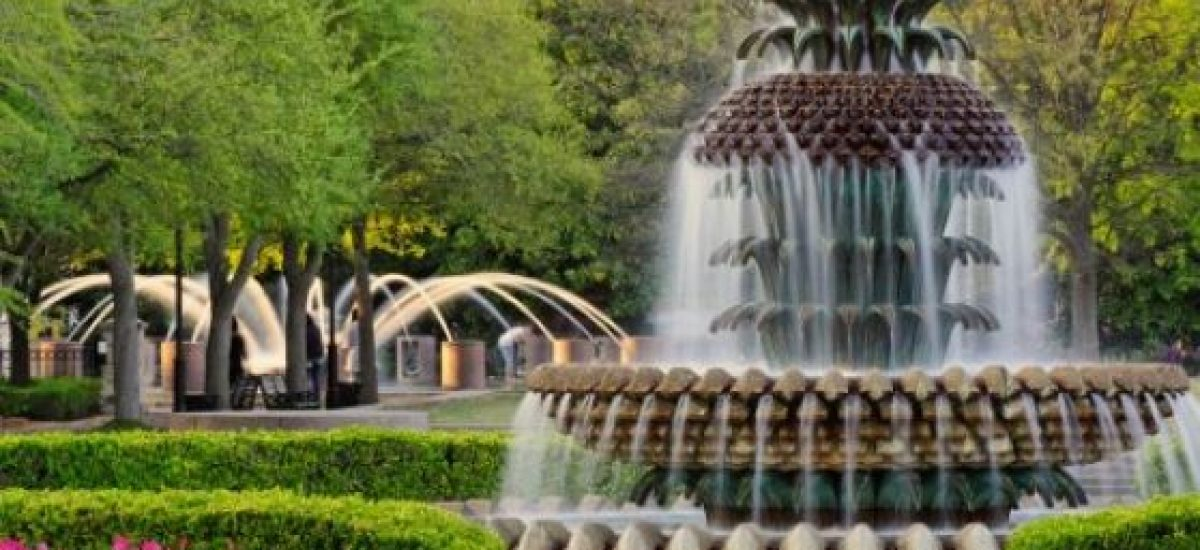 Ananásová fontána