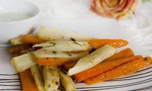 Hranolky z petržlenu a mrkvy