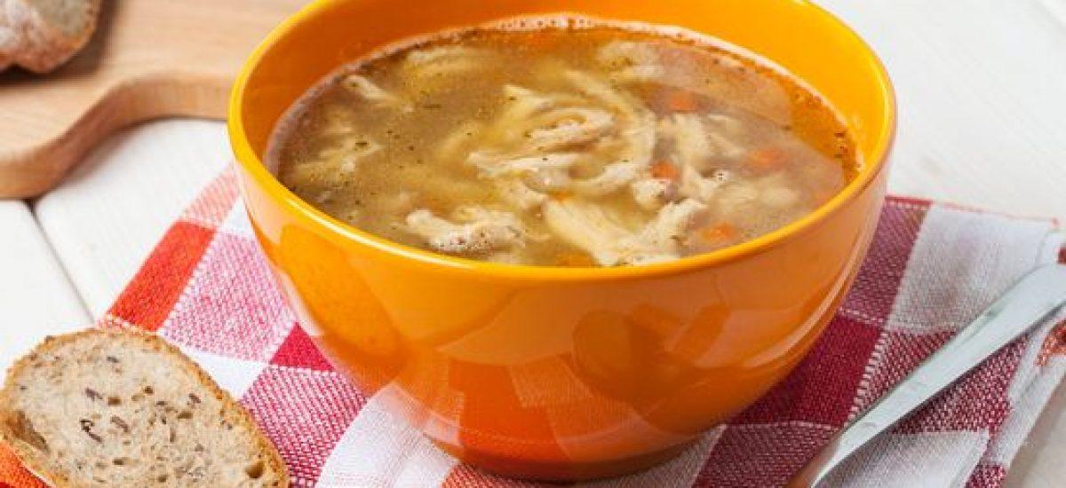 Poľská držková polievka so zeleninou