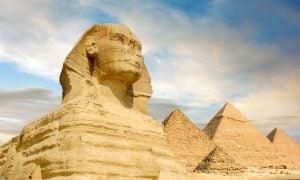 Veľké pyramídy v Gíze