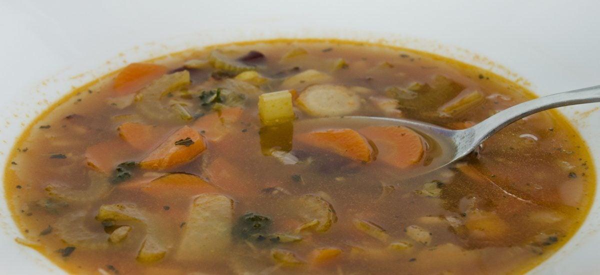 Domáca Minestrone polievka