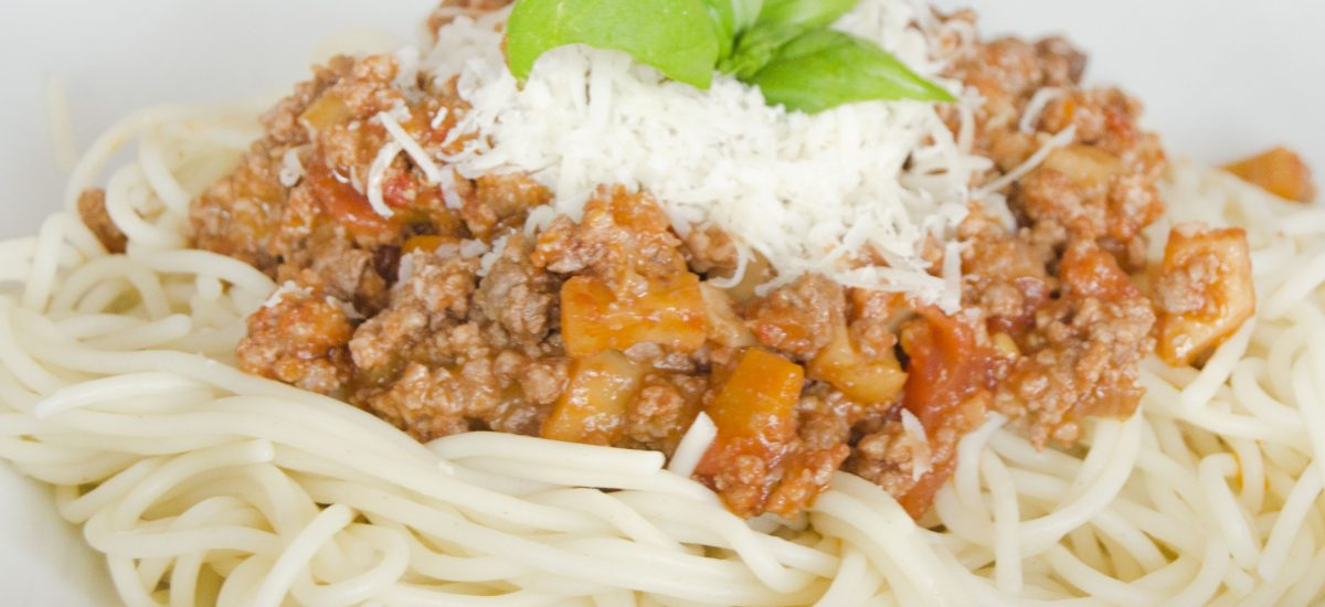 Špagety Bolognese