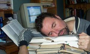 únava