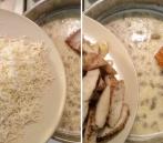 Krémové cestoviny s kuracím mäsom a šampiňónmi poslúžia ako výdatný obed či večera