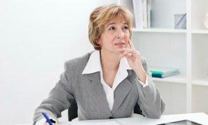 Žena pred dôchodkom