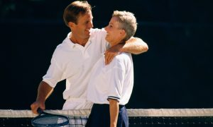 Vďaka tenisu môžete ostať vo forme.