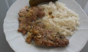 Bravčové mäso na tymiane