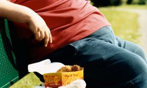 Obézny muž