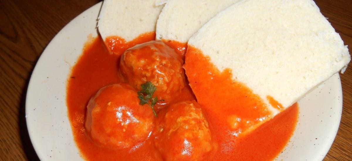 Mäsové guľky v paradajkovej omáčke