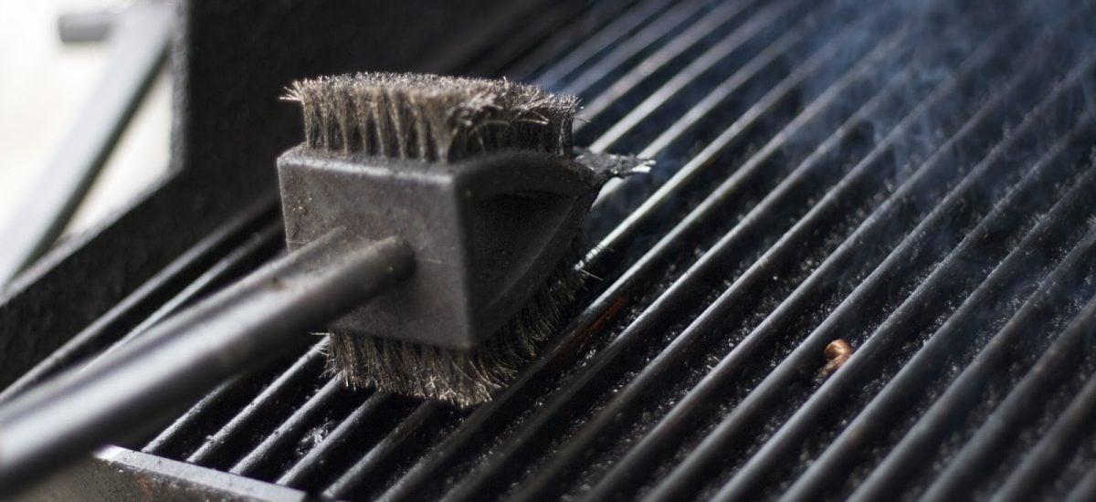 Čistenie grilu