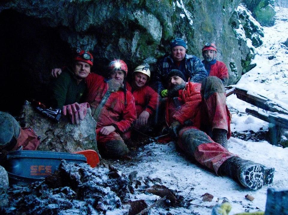 Jaskyniar Marián Grúz