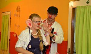 Zdravotní klauni v akcii