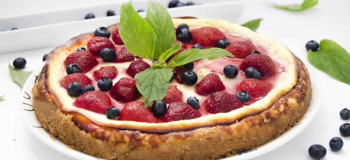 Ovocný koláč s mascarpone