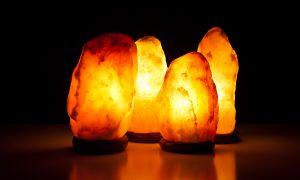 Soľná lampa