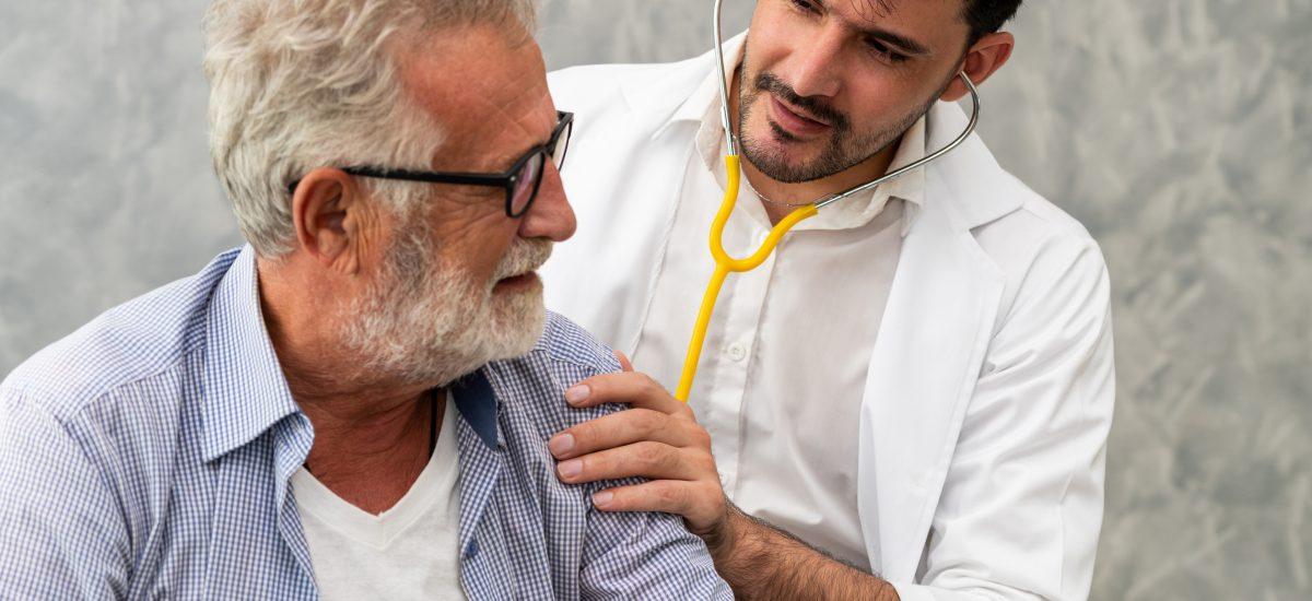 doktor s pacientom, rakovina pankreasu