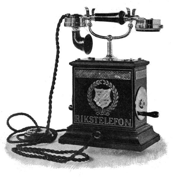 Jeden z prvých telefónov