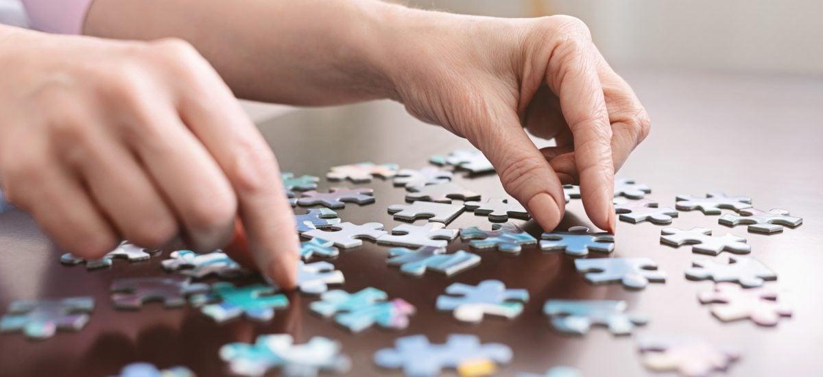 Skladanie puzzle