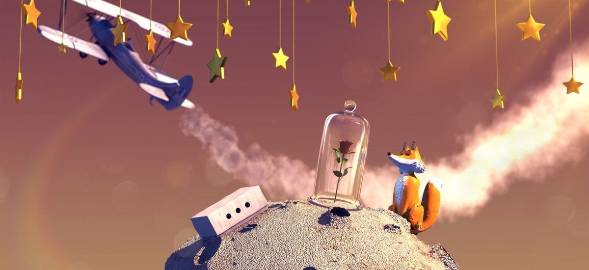 3D ilustrácia rozprávky Malý princ