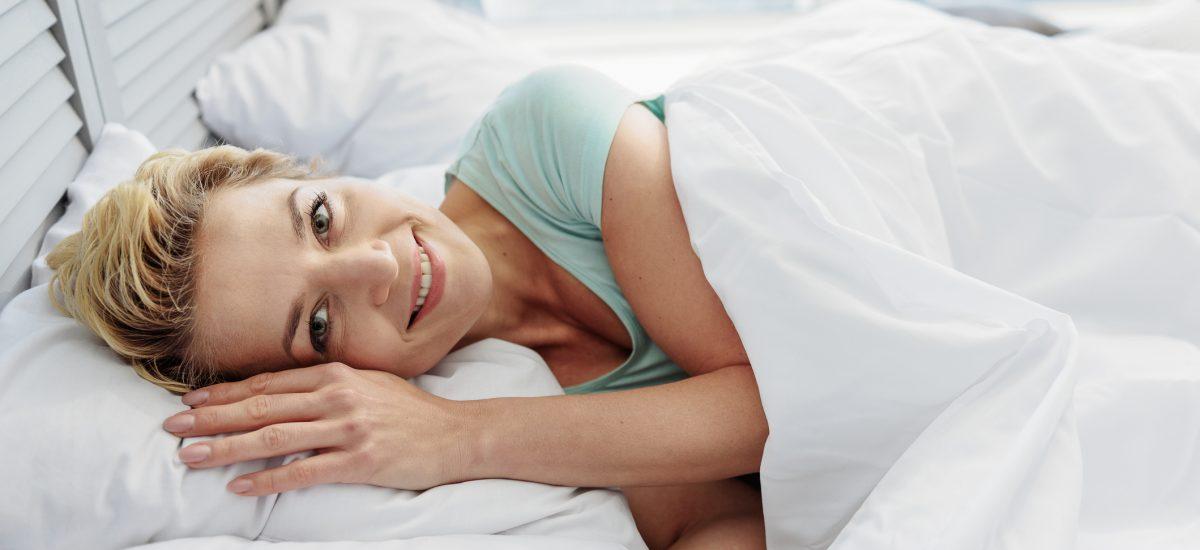Ranné prebudenie v posteli