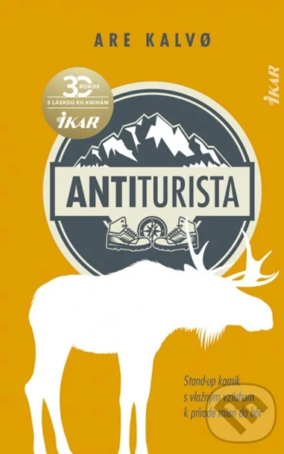 Kniha Antiturista