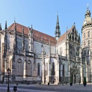 Gotický Dóm sv. Alžbety v Košiciach