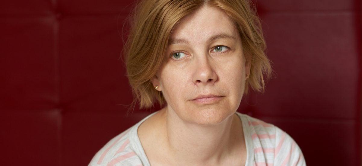 Osamotená žena v depresii