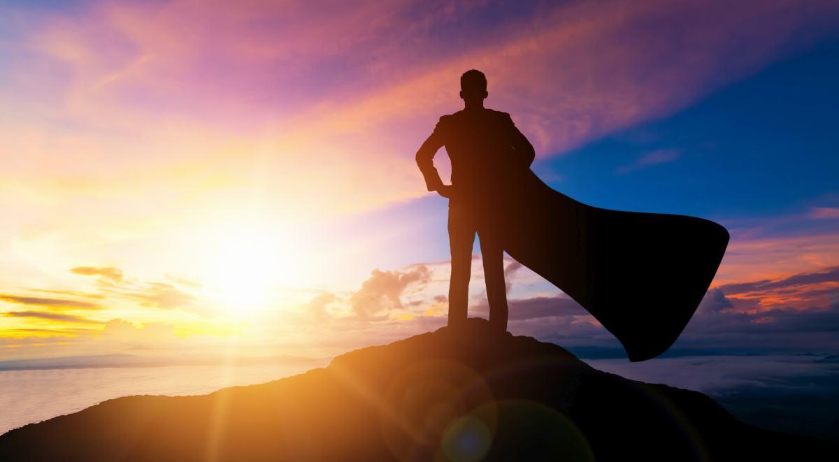 superman na kopci