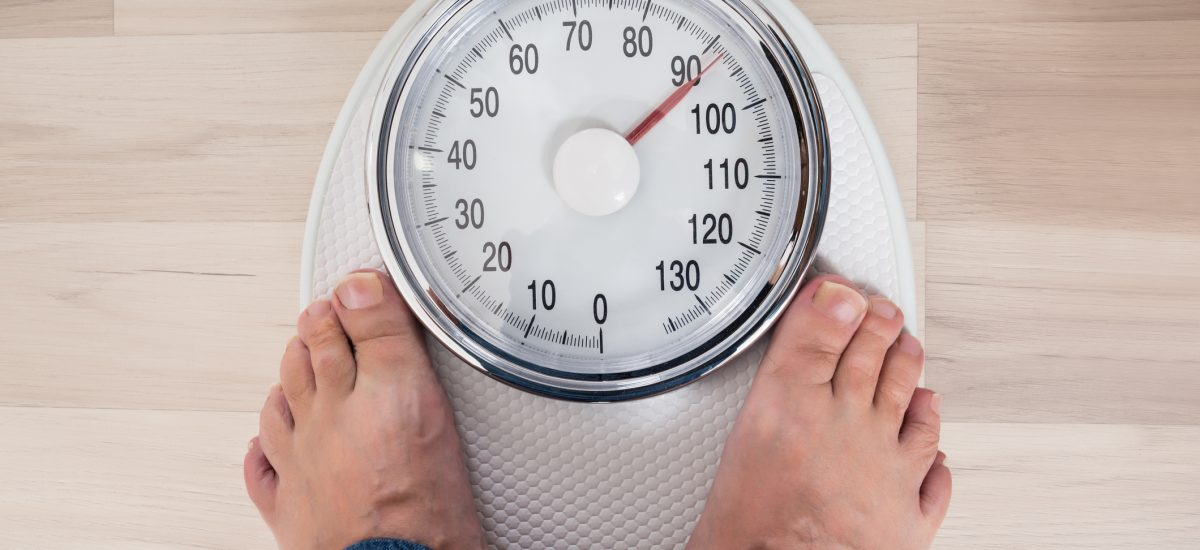 Zisťovanie hmotnosti vážením na váhe