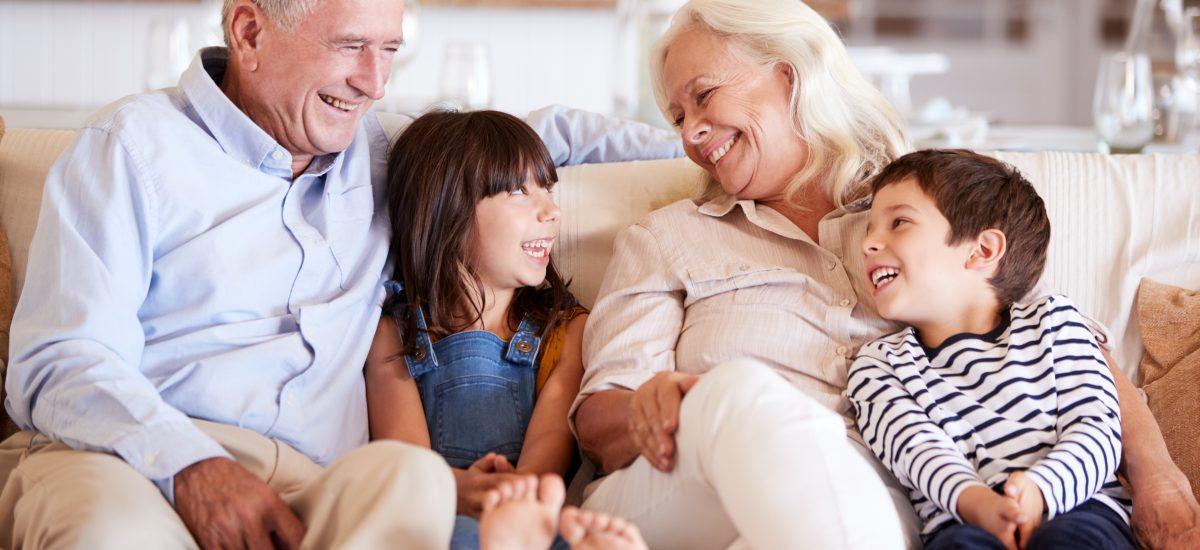 starí rodičia a vnúčat