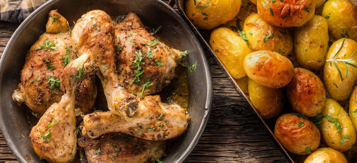 kuracie mäso a zemiaky