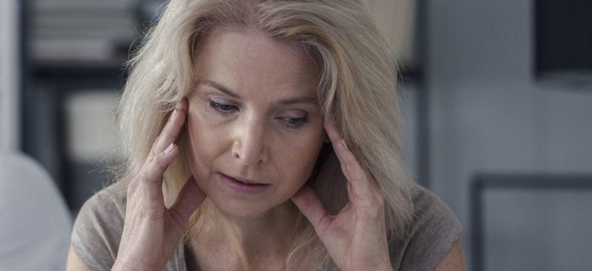 Žena v depresii