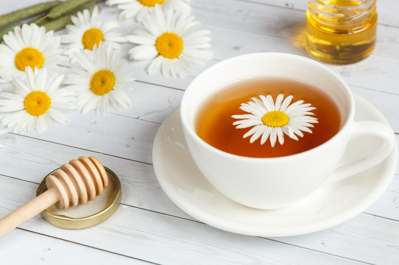 kamilkový čaj