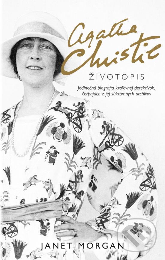 Kniha Agatha christie zivotopis