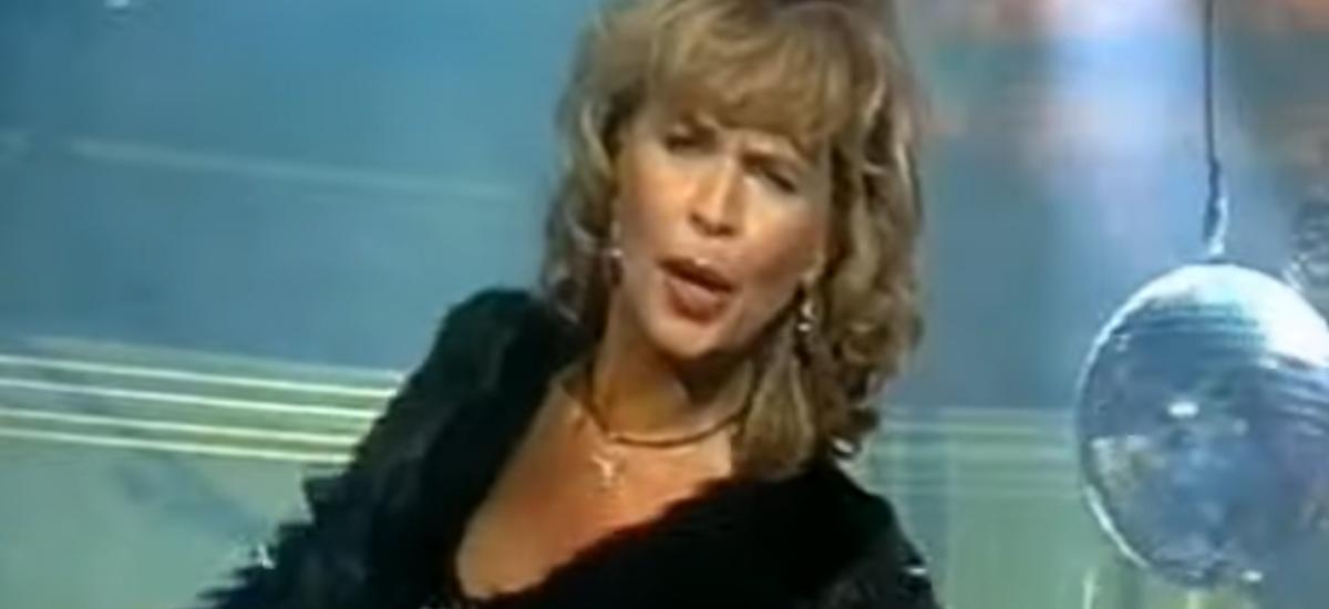 Eva Máziková v silvestrovskom diely Repete