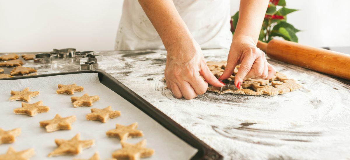 Pečenie vianočných koláčov