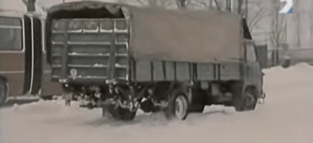 Snehová kalamita v roku 1987