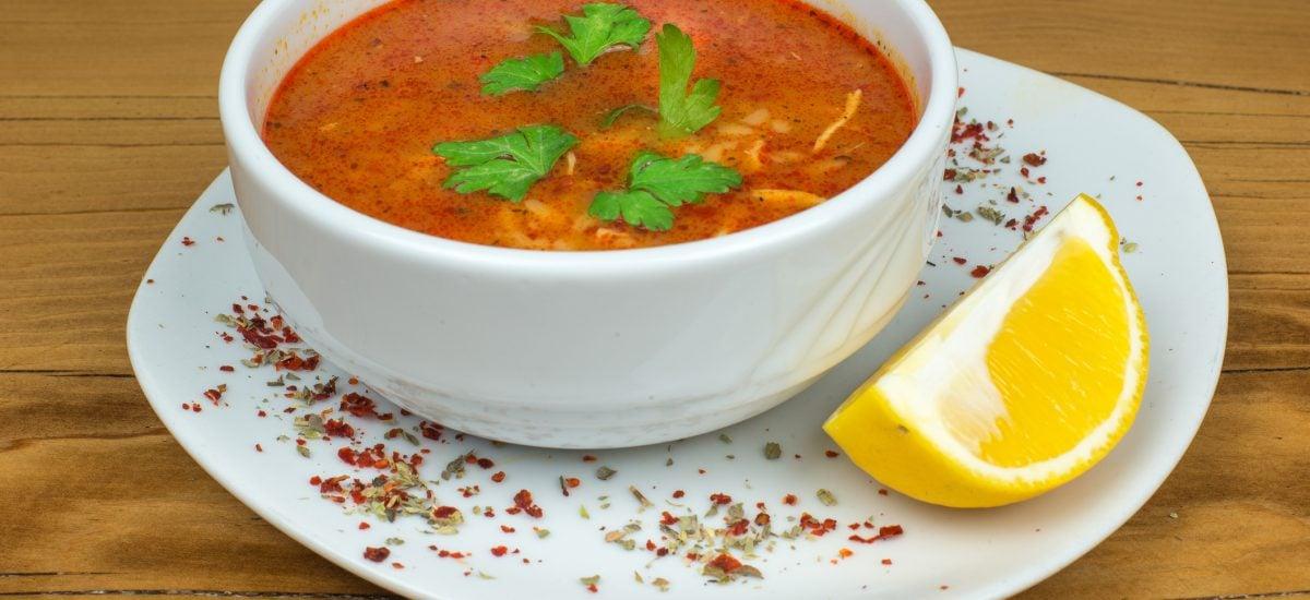 Balkánska polievka čorba