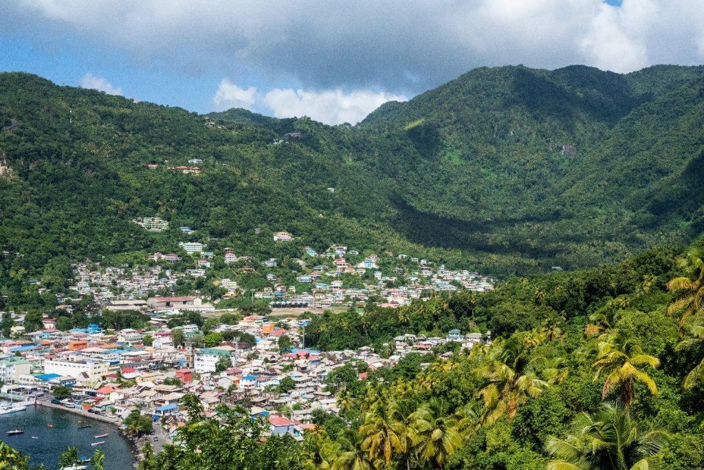 ostrov sv Lucia