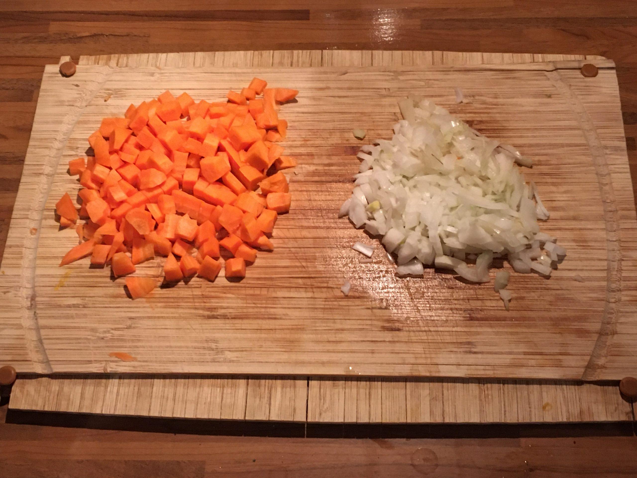 Zemiakový šalát s karfiolom, Fotorecept, Varenie
