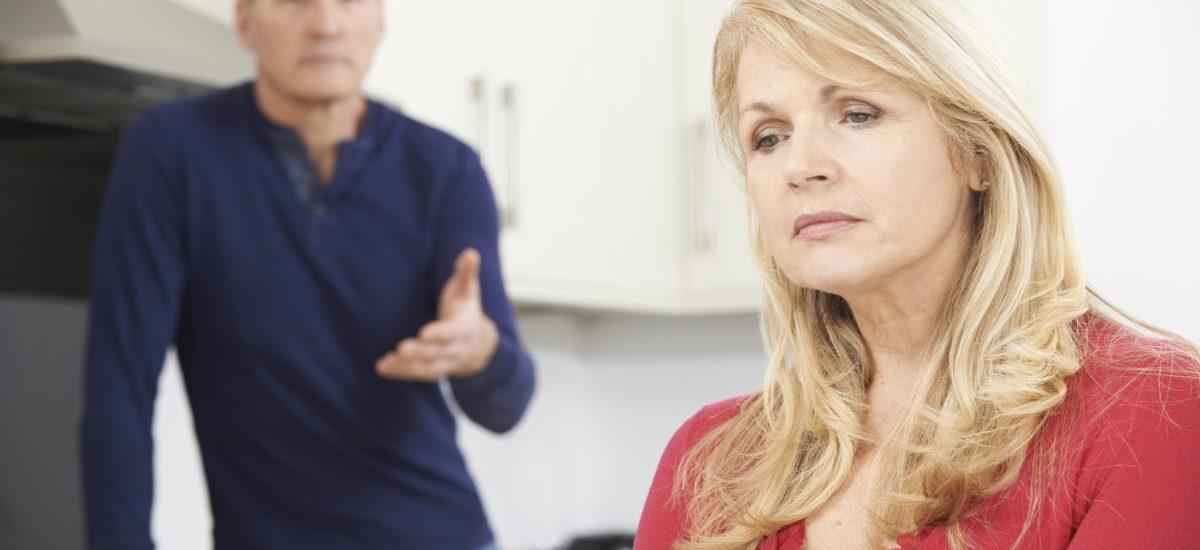 Diskusia muža so ženou