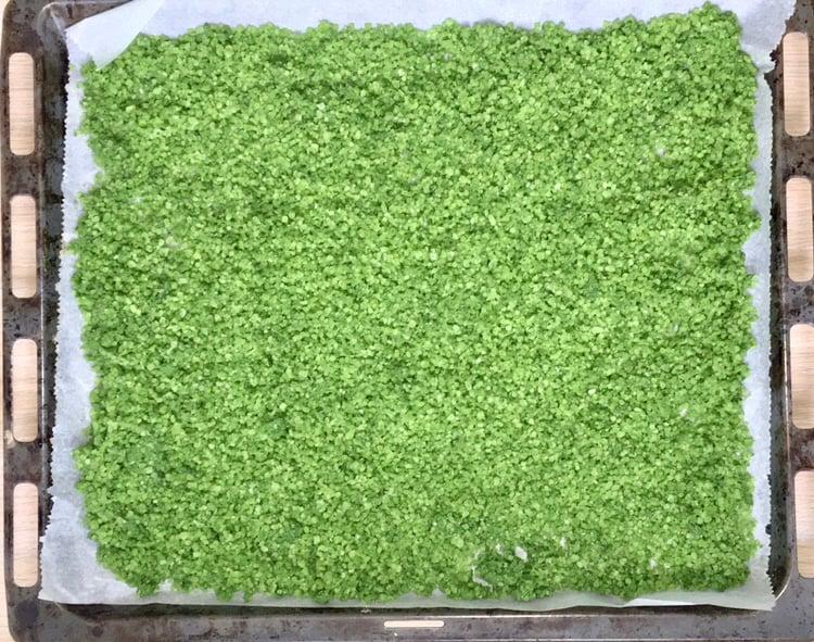 Zelená soľ z medvedieho cesnaku