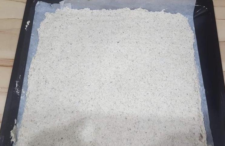 Žĺtkové rezy s orechovým cestom, Pečenie, Fotorecept