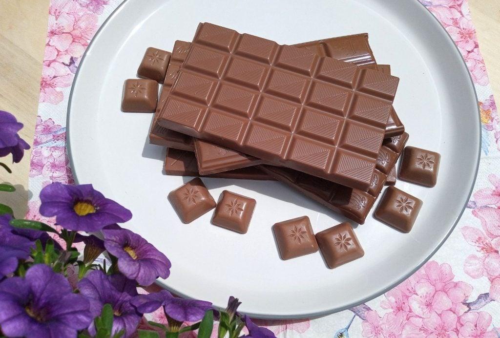 test čokolády