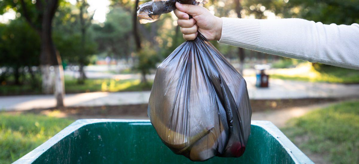 Vrece s odpadkami
