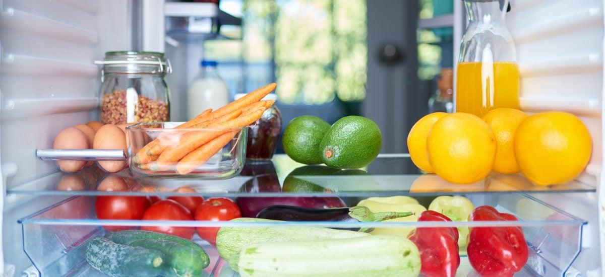 ovocie v chladničke