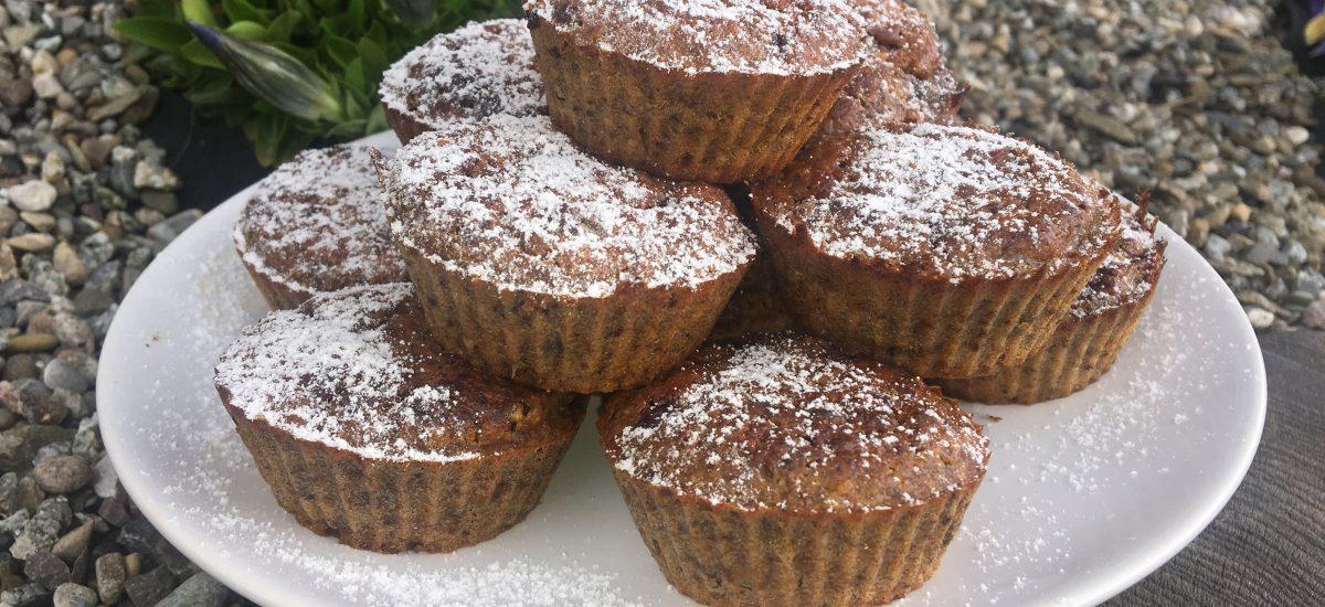Zdravé batátové muffiny, Fotorecept